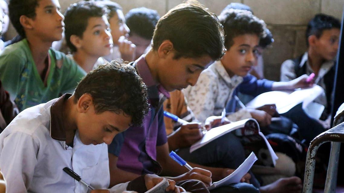 طلاب يمنيون في مدرسة ـ توضيحية
