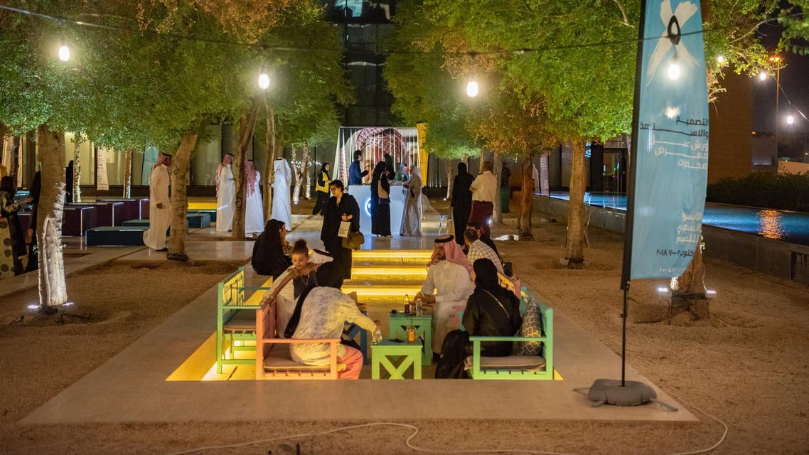 Saudi Design Week occupied the King Abdulaziz Center for National Dialogue in Riyadh for a multi-day event for creativity and design enthusiasts. (Photo: Abdulmajeed Alrowdan)