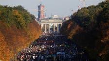 دائیں بازو کی نسل پرستی کے خلاف جرمنی میں ڈیڑھ لاکھ افراد کا مظاہرہ