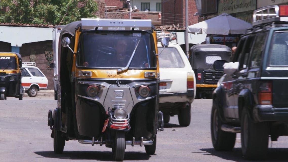 التوكتوك اختراع هندي انتشر في مصر والسودان واثيوبيا