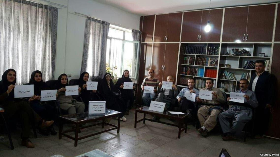 إضراب المعلمين إيران