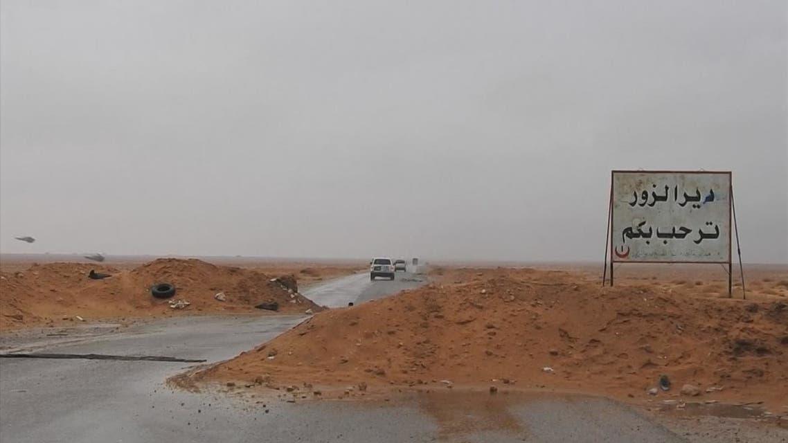 داعش يخطف 130 عائلة في دير الزور