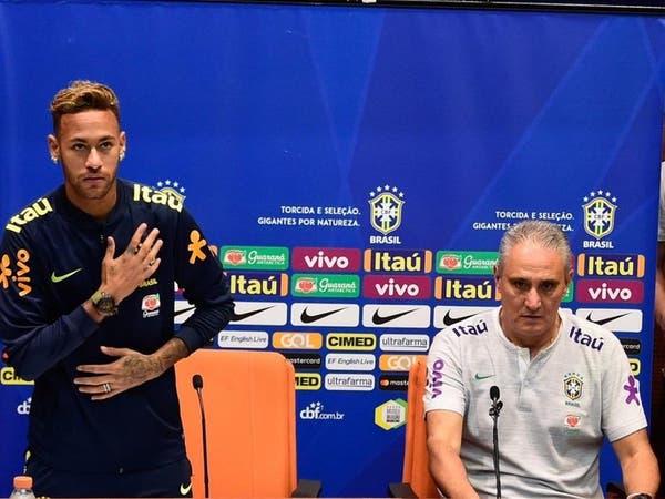 """تيتي: اخترت لاعبي البرازيل.. """"بقلب يعتصره الألم"""""""