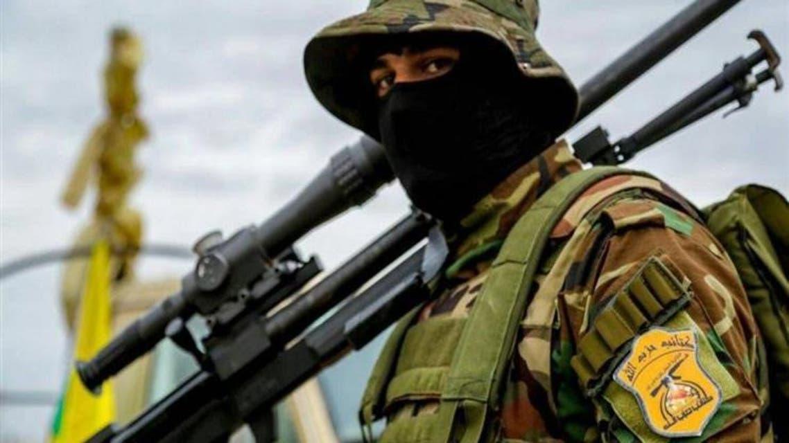 أحد عناصر ميليشا حزب الله