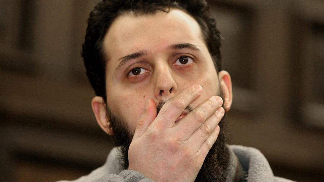 Moroccan Mounir El Motassadeq awaits his sentencing hearing for his role in the September 11 2001 attacks on the United States at a court in Hamburg 08 January 2007. Motassadeq, 32, was convicted in November as an accessory to murder in the suicide attacks on New York and Washington and belonging to a terrorist organisation. He faces up to 15 years in jail.