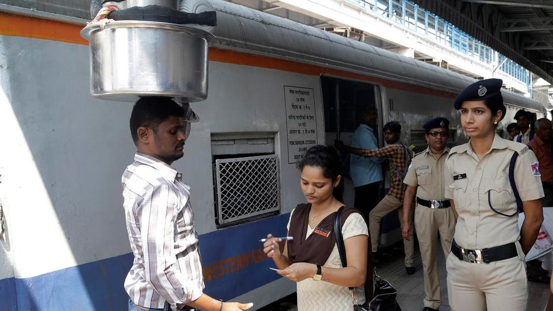 India women tran stations. (AP)