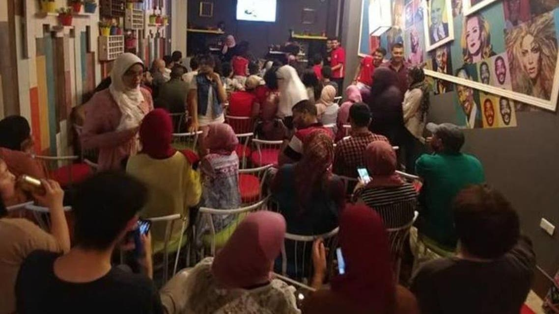 Laugher club in Egypt