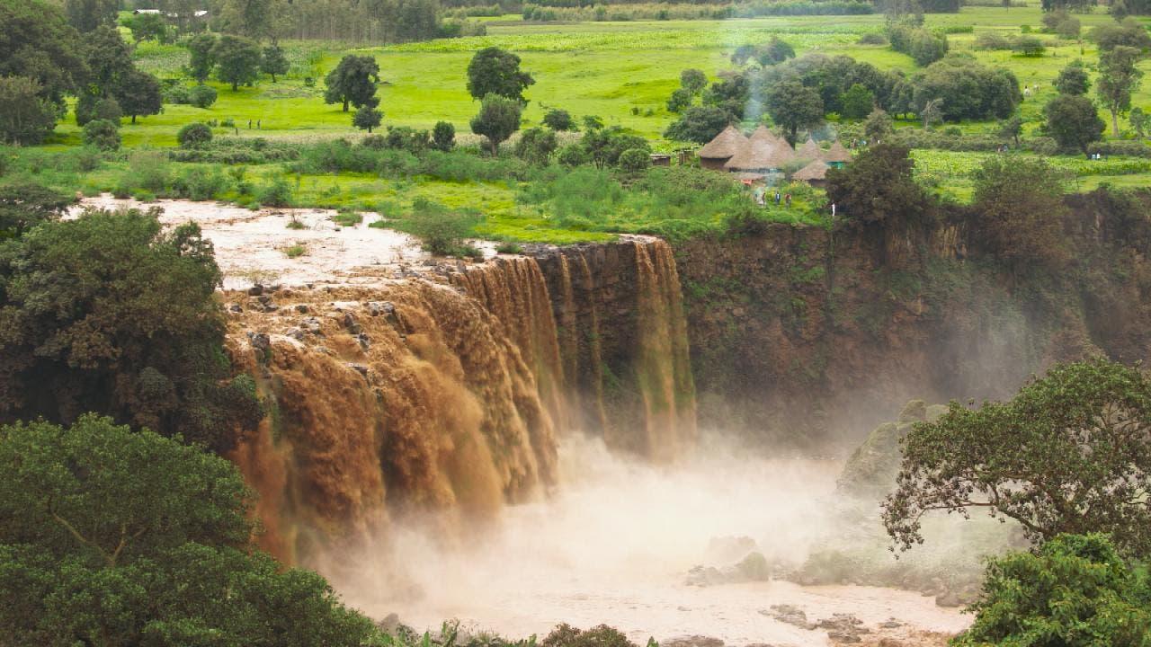 شلالات النيل الأزرق