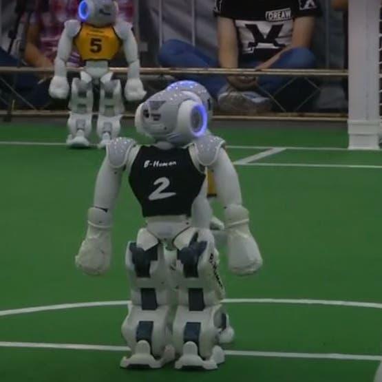 روبوت يؤدي دور لاعب كرة قدم بـ70 ألف يورو