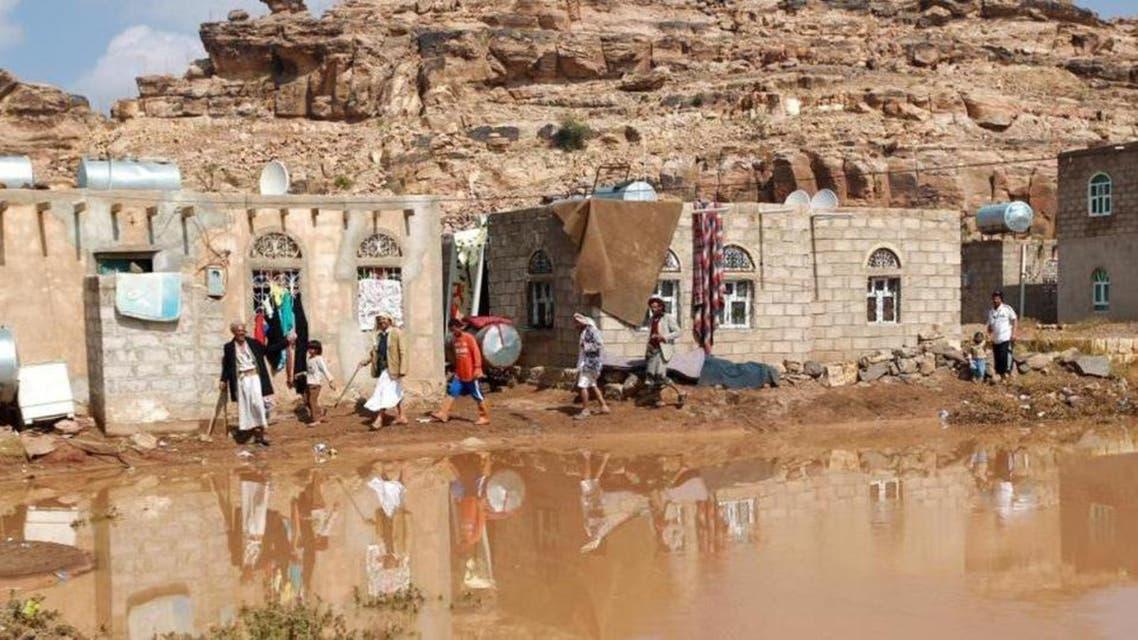 Yemen floods. (Supplied)