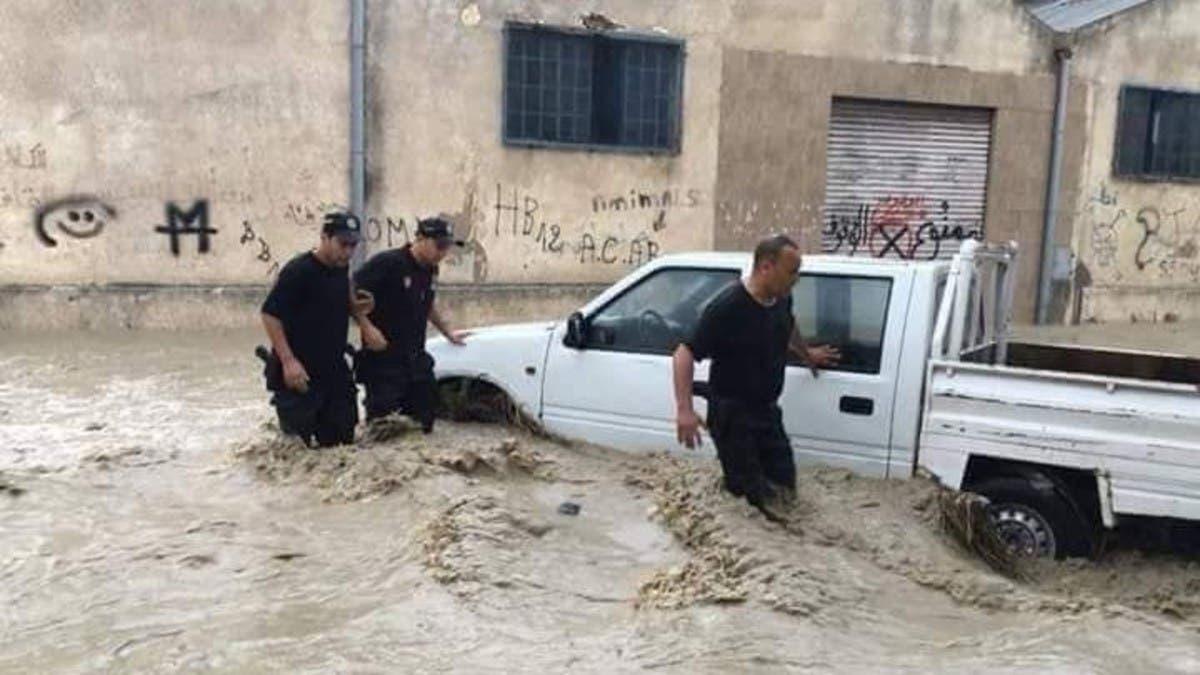 تونس..فيضانات مدمرّة تقتل شخصين وتغرق