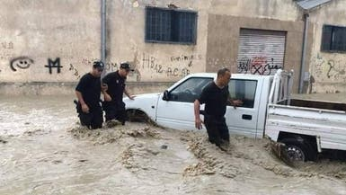 تونس.. فيضانات مدمرة تقتل شخصين وتغرق عددا من الولايات