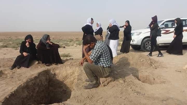 مقبرة جماعة للإيزيديين في تلعفر