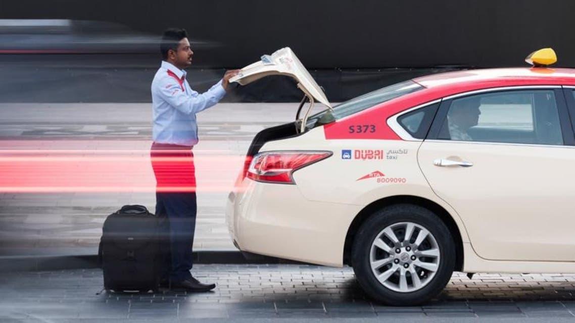 Dubai taxi (Photo courtesy: RTA)