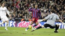 قبل 15 عاماً.. جماهير ريال مدريد صفقت إعجاباً بنجم برشلونة