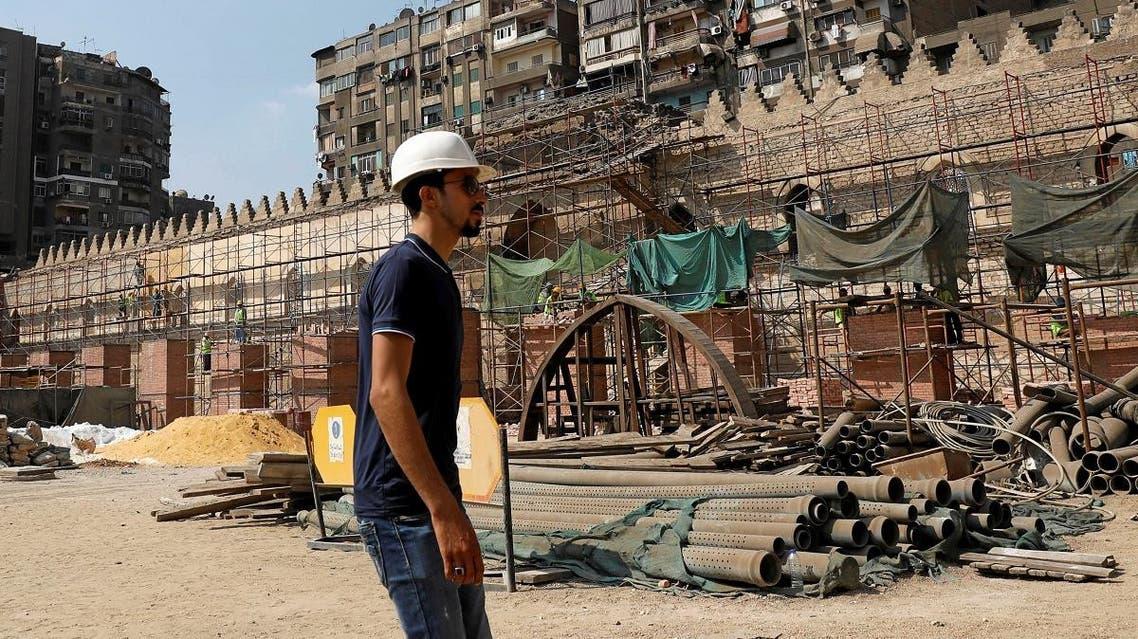 Egypt al-Zahir Baybars Mosque1 (Reuters)