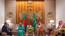 بنگلہ دیشی وزیراعظم شیخ حسینہ کی سعودی شاہ اور ولی عہد سے الگ الگ ملاقات