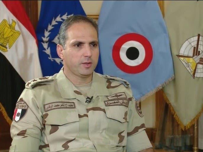 تامر الرفاعي - المتحدث العسكري للقوات المسلحة المصرية