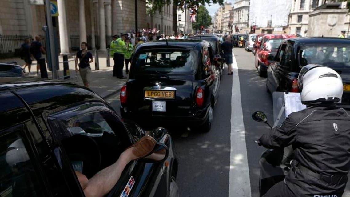 london black cabs (AP)