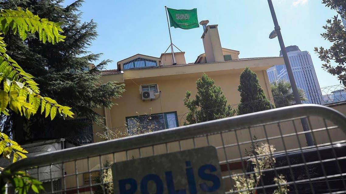 Saudi embassy Turkey Khashoggi. (AP)