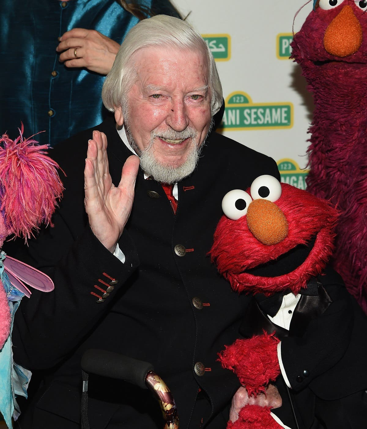 Caroll Spinney and The Muppets attend The 2017 Sesame Workshop Dinner at Cipriani 42nd Street in New York City. (AFP)
