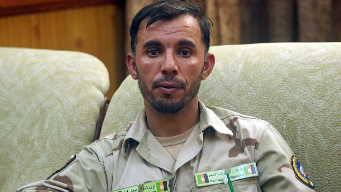Gen. Abdul Razeq, who was killed in today's attack, is seen at his office in Kandahar province, Afghanistan August 4, 2016. Picture taken August 4, 2016. REUTERS/Stringer NO RESALES. NO ARCHIVES.