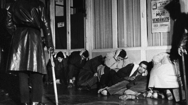 Algerian Paris massacre. (Supplied)