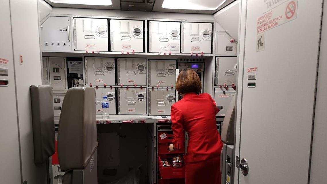 Flight attendant. (Shutterstock)