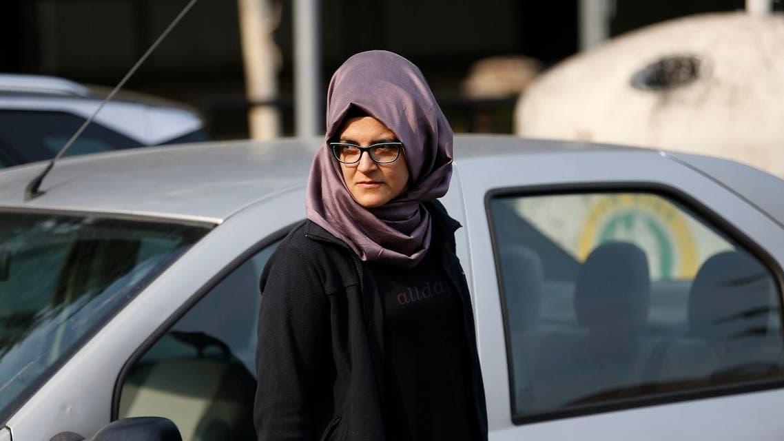 Khadija Khashoggi fiancee. (AP)aa