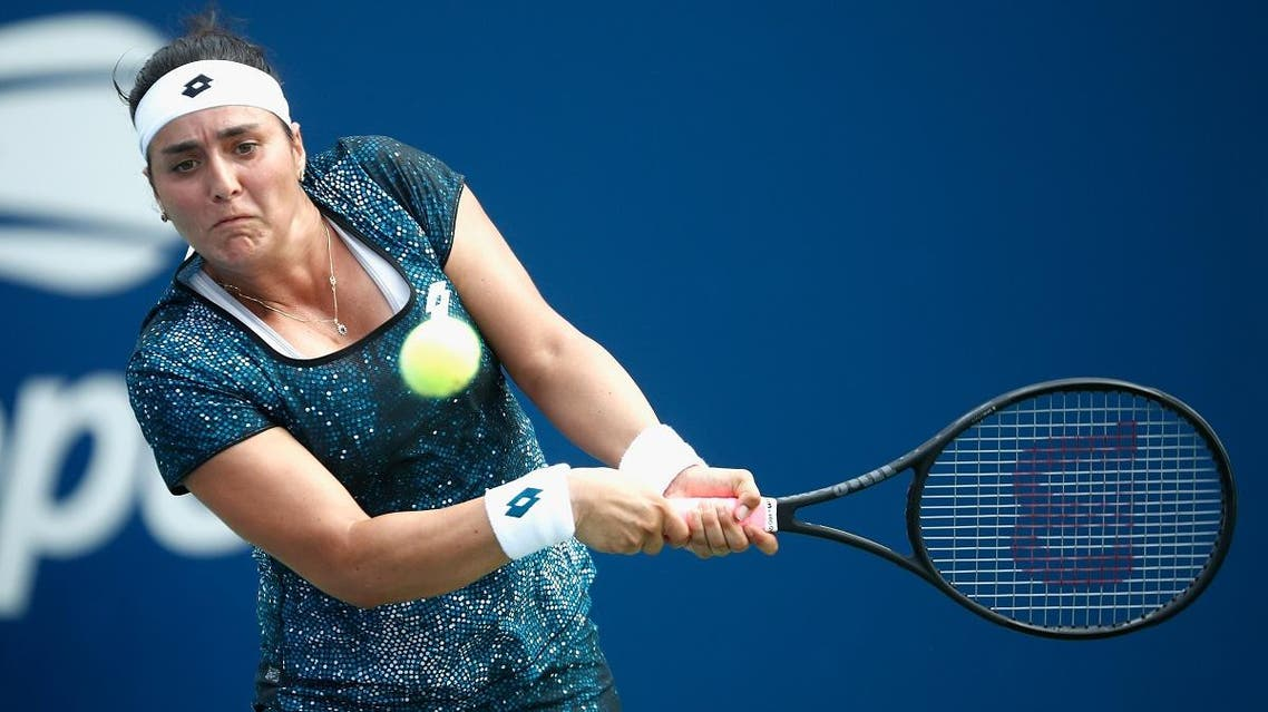 Ons Jabeur of Tunisia returns the ball during a US Open match. (File photo: AFP)