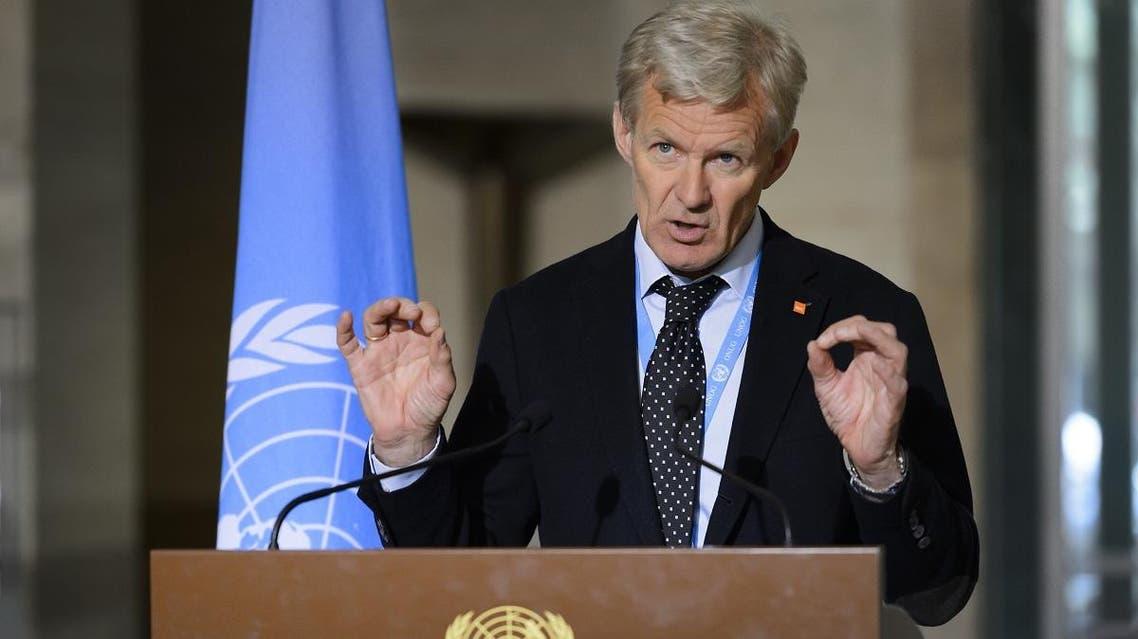 Special Advisor to the UN Syria envoy Jan Egeland (AP)