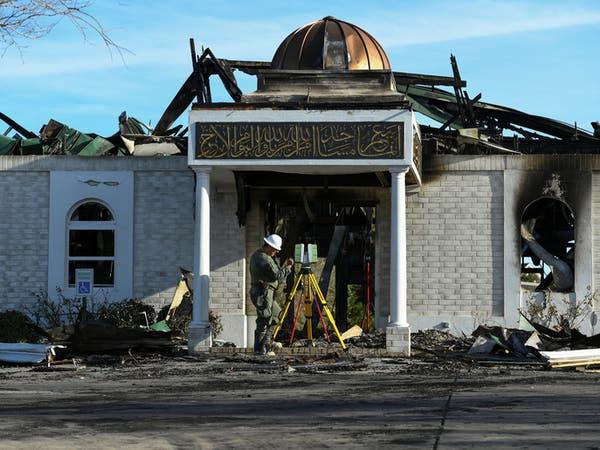 محكمة تعاقب أميركياً أحرق مسجداً بتكساس