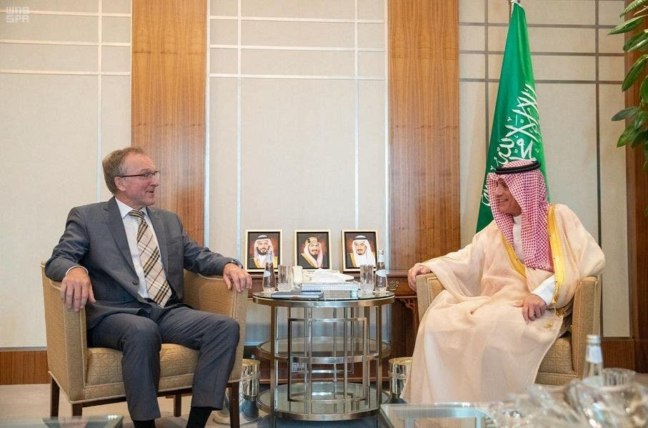 السفير الألماني لدى السعودية مع الجبير