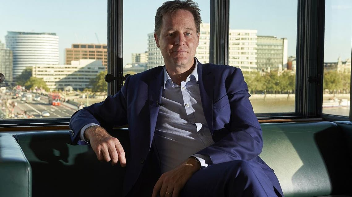 File photo of Nick Clegg, former UK Deputy Prime Minister, who has been hired by Facebook to lead its global affairs and communications team. (AFP)