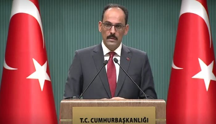 Turkish Presidential spokesman Ibrahim Kalin (Reuters)
