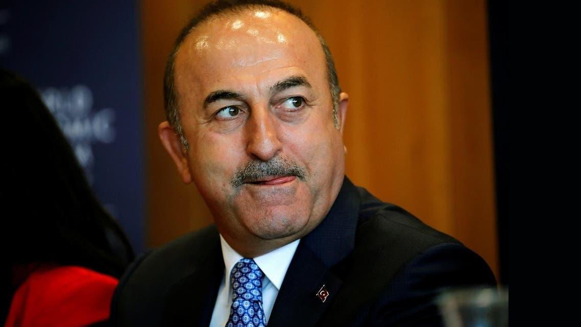 Turkish foreign minister Cavusoglu. (Reuters)