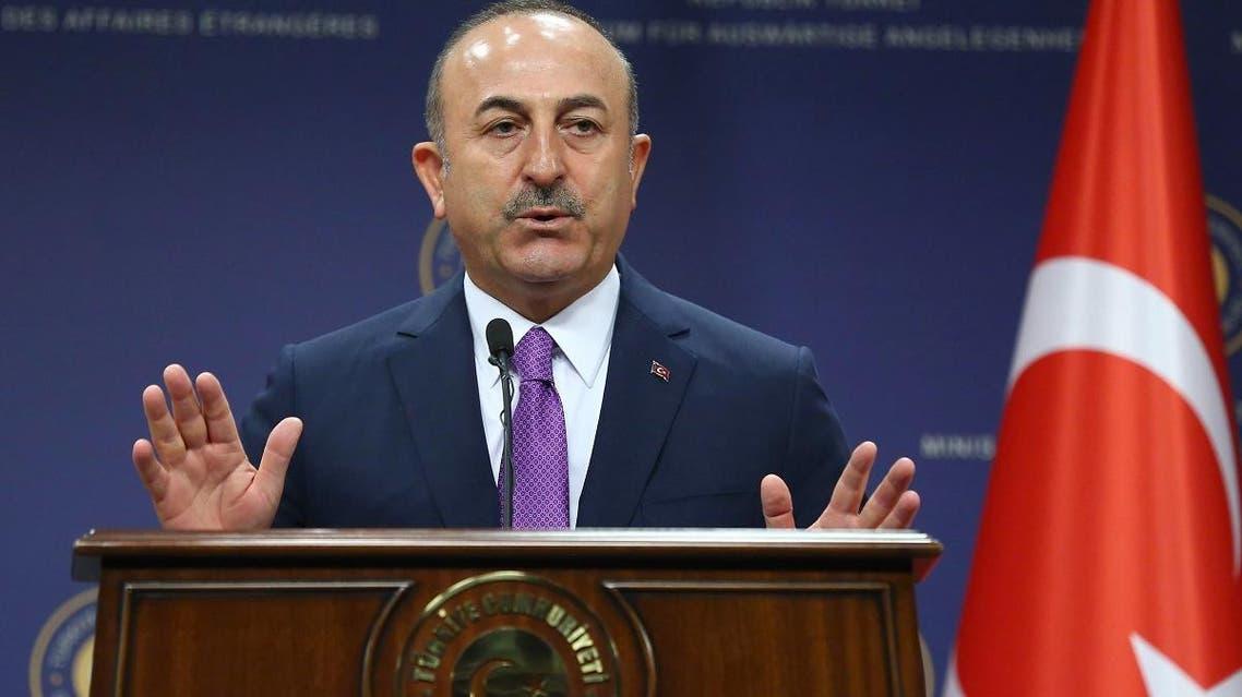 Turkey FM Mevlut Cavusoglu (AFP)