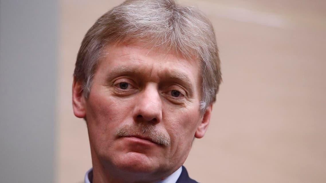 Russia's Presidential spokesman Dmitry Peskov (AFP)