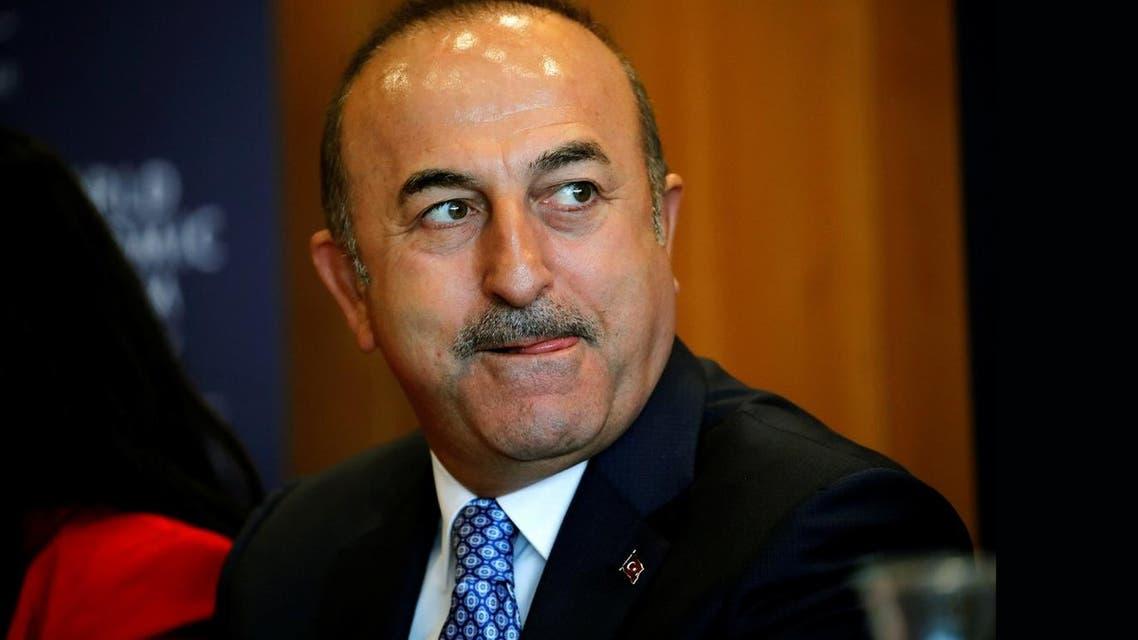 Turkish foreign minister Cavusoglu. (Reuters)a