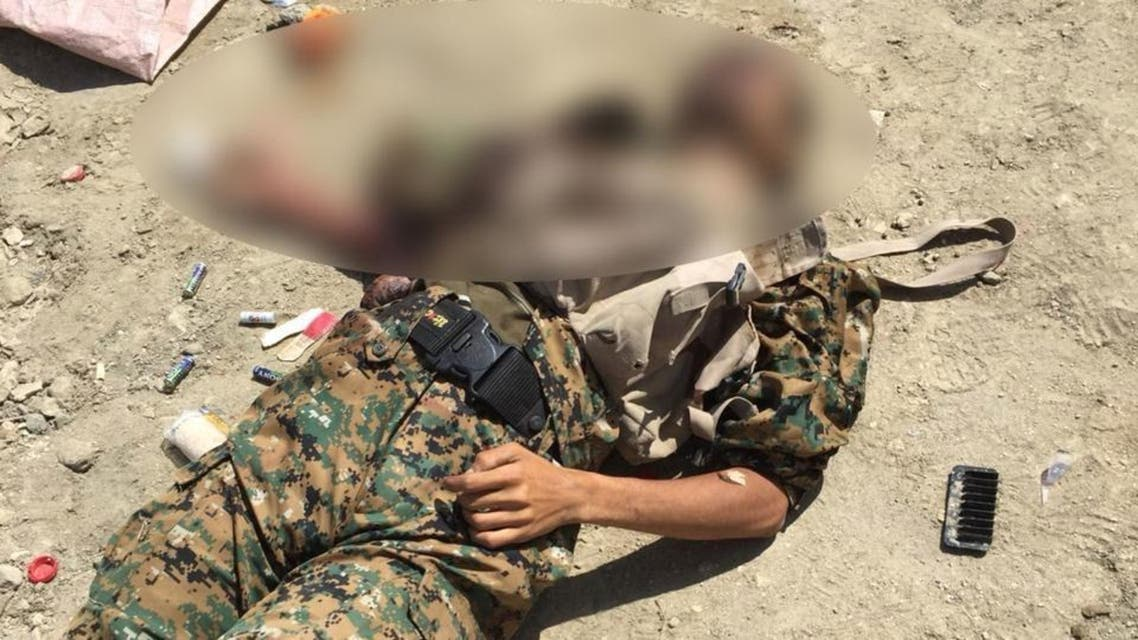 جثة قيادي في ميليشيا الحوثي