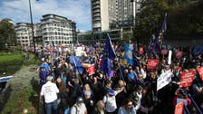 لندن کی شاہراہوں پر بریگزٹ پر نئے ریفرینڈم کے لیے لاکھوں افراد کے مظاہرے