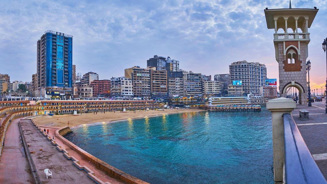 alexandria egypt corniche (Shutterstock)