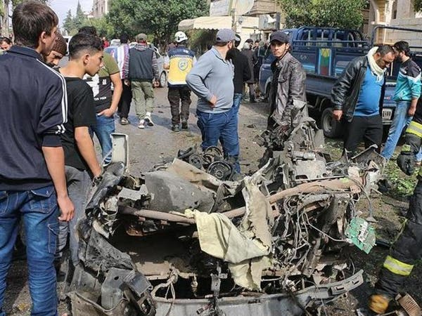 سوريا.. مقتل 3 بينهم طفل في انفجار مفخخة بإدلب