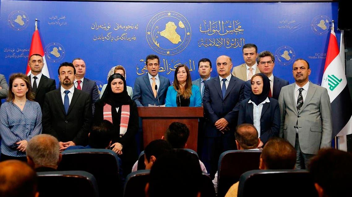 lawmakers of Kurdistan Democratic Party Parliamentary block (AP)