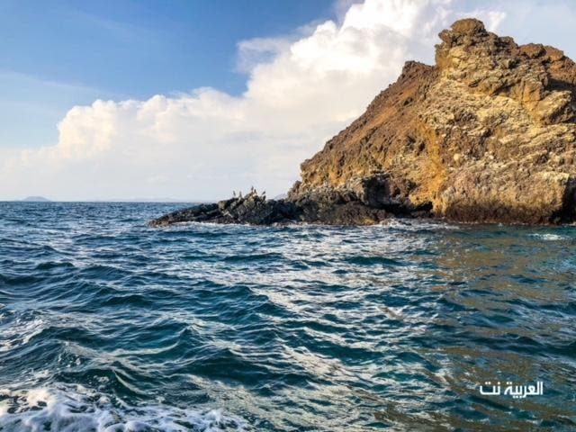 Saudi Kadambal Island in the Red Sea gains popularity for its unique mountain