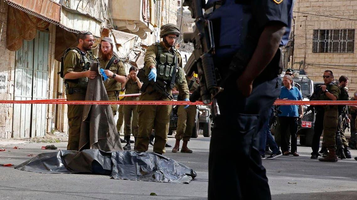 Palestinian killed west bank (AFP)