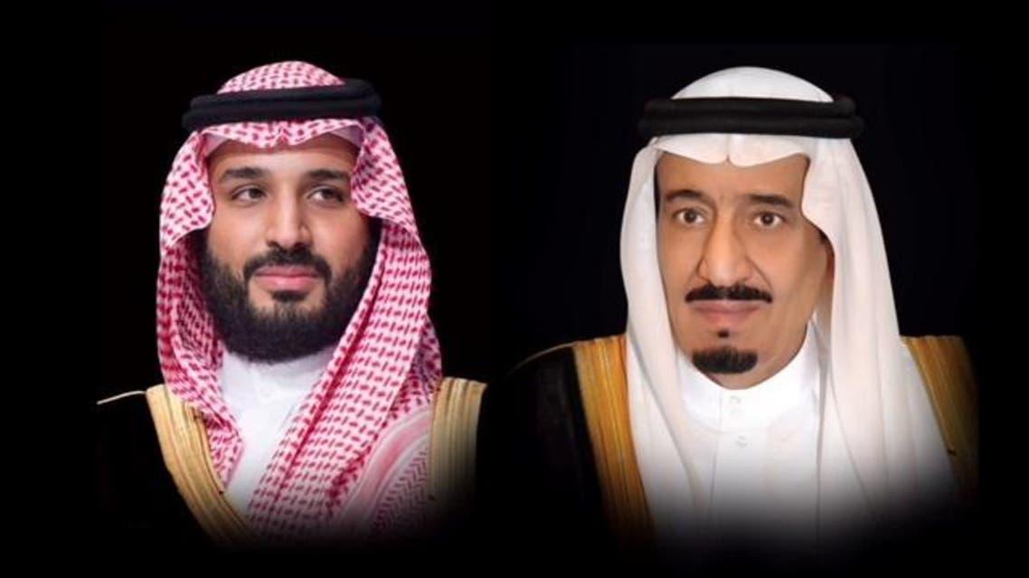 الصورة الرسمية الملك سلمان و الأمير محمد بن سلملن