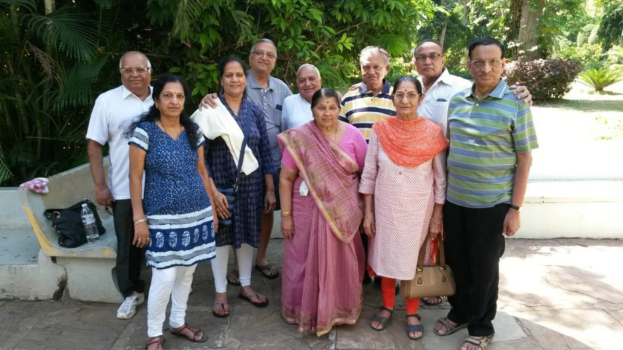 K.H. Patel (extreme right) feels that empty nesters are themselves responsible for their plight. (Supplied)