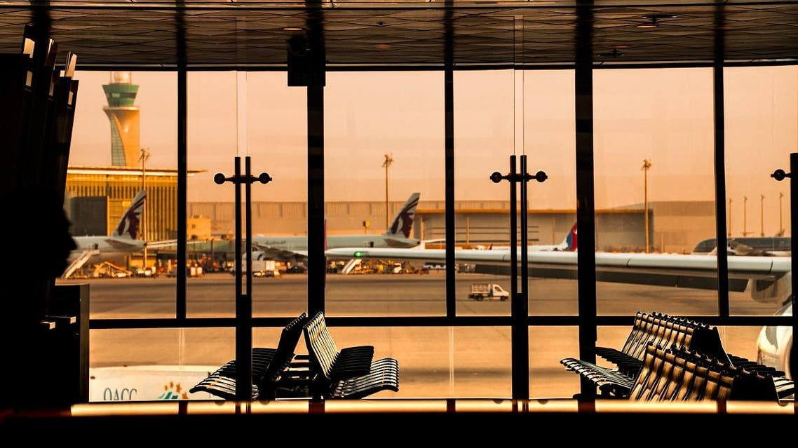 Hamad international Airport in Qatar Transition time, Departure lounge Wait time ,Travel in Doha Qatar Airport , Journey august 2018. (Shutterstock)