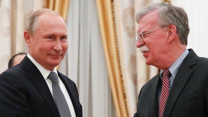 بولتون:بحثت مسألة التدخل بالانتخابات الأميركية مع بوتين